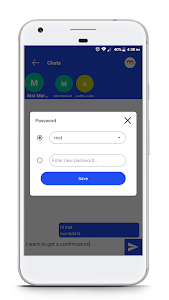 screenshot of Private SMS version 3.5