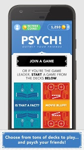 screenshot of Psych! Outwit Your Friends version 9.3.34