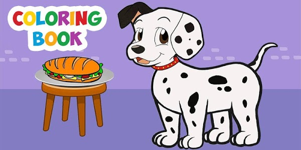 screenshot of Puppy Coloring Book: Learn To Color And Draw A Dog version 3.0.1