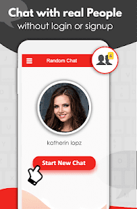 screenshot of Random Chat: Meet new people version 1.8