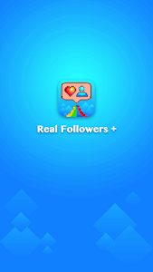 screenshot of Real Followers + version 1.0.1