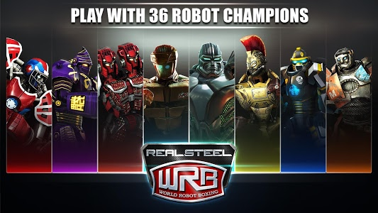 screenshot of Real Steel World Robot Boxing version 19.19.482