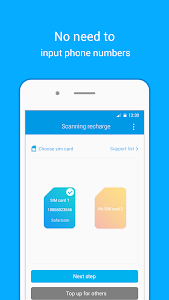 screenshot of Recharge King - Top up tool, Recharge phone version V1.4.013.0