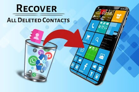 screenshot of Recover Deleted All Contacts version 1.1