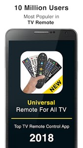screenshot of Remote Control for All TV version 1.1.16