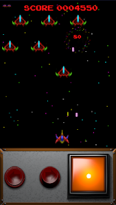 screenshot of Retro Destroyer Arcade version 1.14