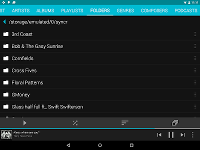 screenshot of Rocket Player : Music Player version Varies with device