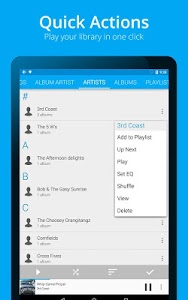 screenshot of Music Player : Rocket Player version 3.3.2.38
