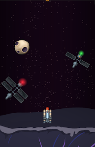 screenshot of Rocket Racer version 1.5