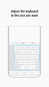 screenshot of Samsung Keyboard version 2.1.03.23