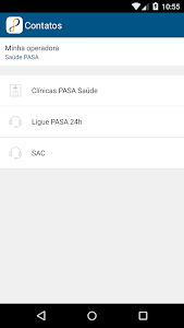 screenshot of Saúde PASA version 3.28.1