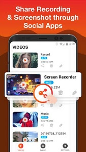 screenshot of Screen Recorder for Game, Video Call, Video Editor version 1.4.9