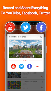 screenshot of Screen Recorder V Recorder - Audio, Video Editor version 2.6.1