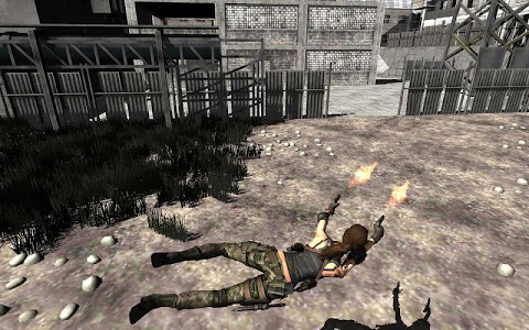 screenshot of Secret Agent Lara Croft : Front Line Commando version 1.0.5