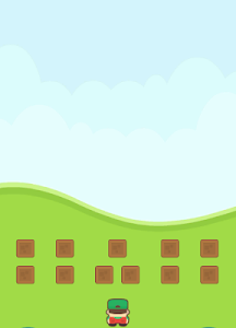 screenshot of Shape Invaders version .6