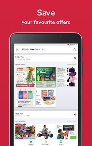 screenshot of Shopfully - Weekly Ads & Deals version 8.0.4