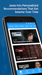 screenshot of SiriusXM version Varies with device