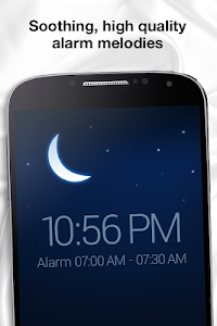 screenshot of Sleep Cycle alarm clock version 1.3.698