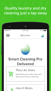 screenshot of Smart Cleaning Pro Delivered version 2.9.0