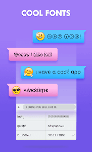 screenshot of FunType: Emoji Keyboard, GIF, Emoji,Keyboard Theme version 1.3.4