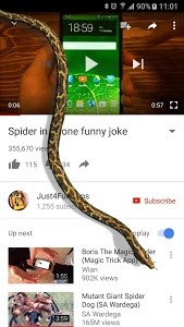 screenshot of Snake On Screen Hissing Joke version 2.3