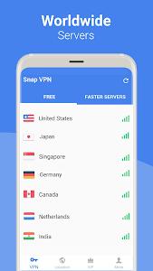 screenshot of Snap VPN - Unlimited Free & Super Fast VPN Proxy version 4.2.8