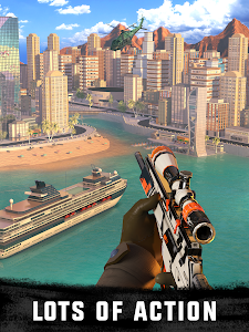screenshot of Sniper 3D Gun Shooter: Free Fun Shooting Games version Varies with device