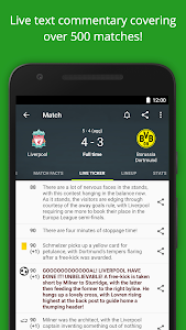 screenshot of Soccer Scores - FotMob version Varies with device