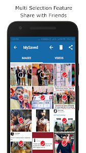screenshot of Downloader for Instagram and Whatsapp version 1.0.4
