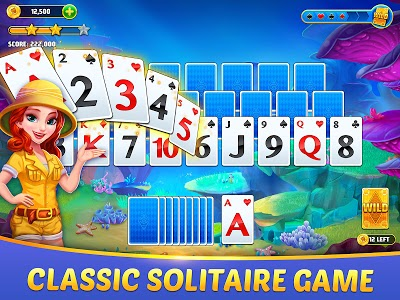 screenshot of Solitaire TriPeaks Journey - Free Card Game version 1.1357.0