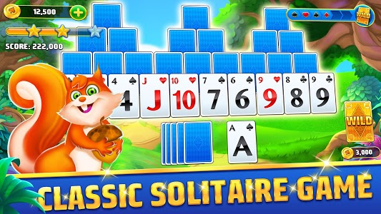 screenshot of Solitaire TriPeaks Journey - Free Card Game version 1.897.1