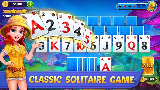 screenshot of Solitaire TriPeaks Journey - Free Card Game version 1.2368.0