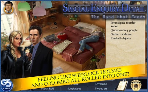 screenshot of Special Enquiry Detail®: The Hand that Feeds version 1.3