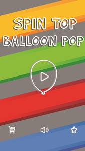 screenshot of Spin Top Balloon Pop version 1.0