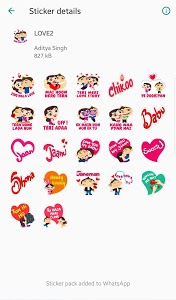 screenshot of Stickers For Whats app - WAStickerAPP version 1.0