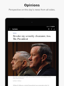 screenshot of The Washington Post version Varies with device
