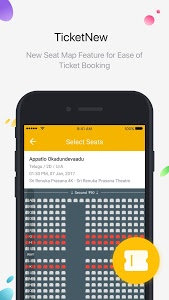 screenshot of TicketNew version Varies with device