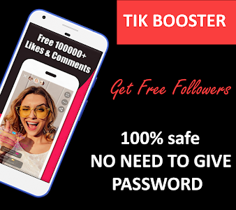 screenshot of TikBoost : Tik Likes , Fans & Followers version 1.1