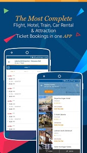 screenshot of Tiket.com - Flight & Hotel version 1.11.9