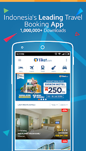 screenshot of Tiket.com - Flight & Hotel version 1.9.8