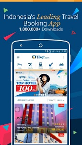 screenshot of Tiket.com - Flight & Hotel version 1.11.6