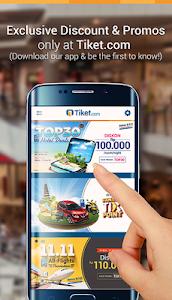 screenshot of Tiket.com - Hotel & Pesawat version 1.8.8.2