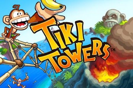 screenshot of Tiki Towers version 1.6.1