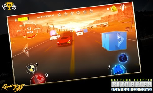 screenshot of Traffic Street Speed Racer 3D version 2.0