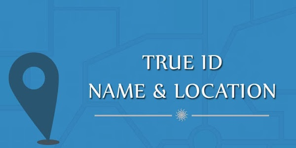 screenshot of True ID Name & Location version 1.3