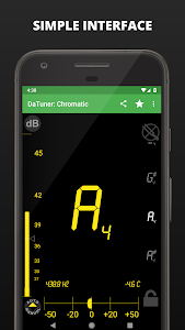 screenshot of Tuner - DaTuner version 3.92