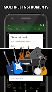 screenshot of Guitar Tuner, Bass, Violin, Banjo & more | DaTuner version 3.102