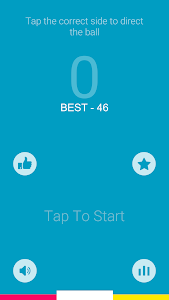 screenshot of Two Colors - Tap Game version 1.02