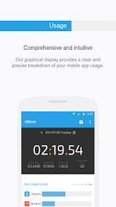 screenshot of UBhind: No.1 Mobile Life Tracker/Addiction Manager version 4.18.8