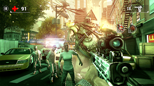 screenshot of UNKILLED - Zombie FPS Shooting Game version 2.0.5